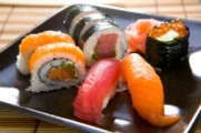 sushi - transmission of parasites from raw fish