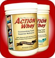 Action Whey undenatured protein from raw milk from grass-fed cows