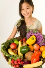 Nutritional value of fruits and vegetables